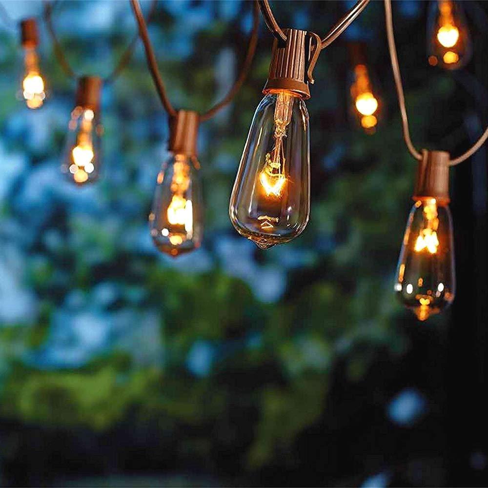 Outdoor Light Bulb String Lights