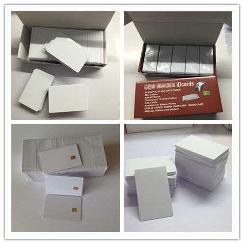 Wholesale low cost RFID PVC plastic business card with custom design printing