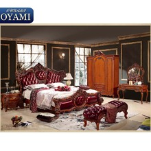 Alibaba master king hotel wood luxury italian queen bedroom set