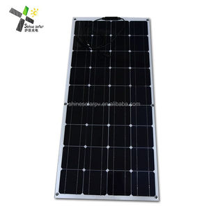 Hot Selling Thin Film Portable PV Module Mono Flexible Solar Panel 80W 100W 120W 150W 200W
