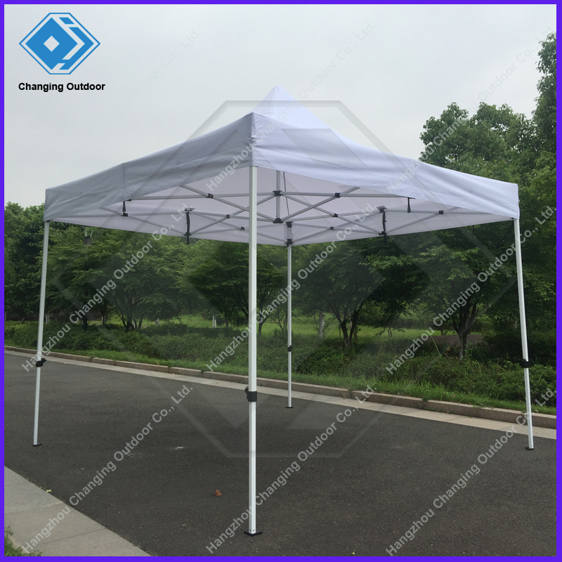 Commercial frame large commercial red tent for Steel frame tents
