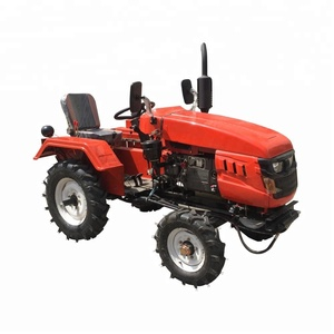 4 wheel mini agricultural machinery tractors / small compact farm mini tractor 4wd for sale