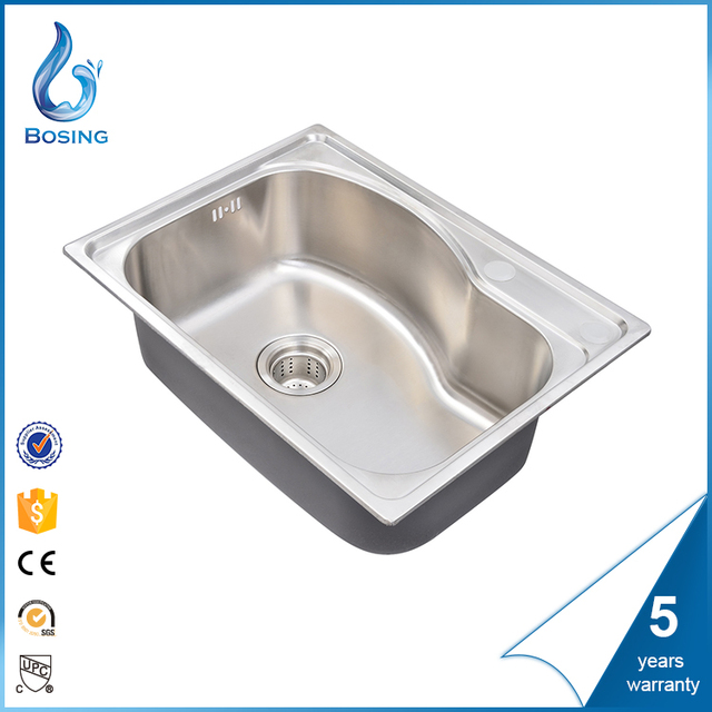 Price Most Popular Odm Single Bowl Ss Kitchen Sink In Bangladesh