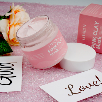 Private Label Custom Pink Clay Orgainc Face Mask for Skin Care