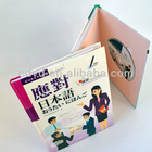 Hardbound CD book dvd book printing cd audio books Heavy Chipboard Wrapped DVD & CD Packaging