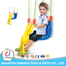 Outdoor toys reciprocal plastic kids single swing pass EN71