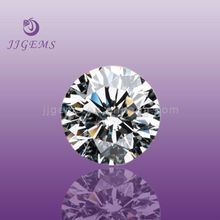 Best selling white cubic zircon round wholesale
