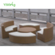 Sweety Functional Natural Rattan Outdoor Round Sofa Lounge