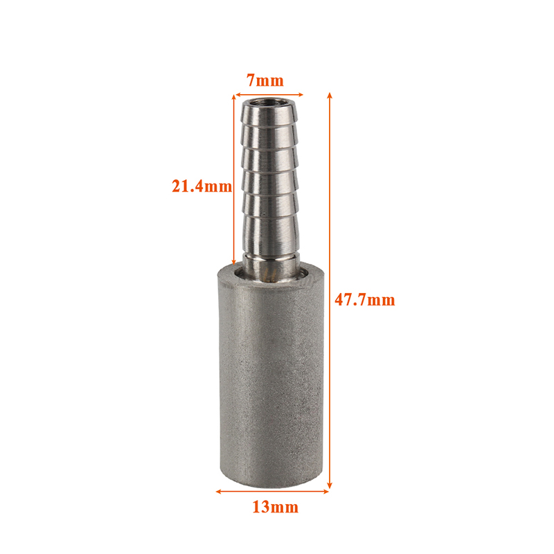 Stainless Steel 0.5 Micron Homebrew Oxygenation Diffusion Stone Beer Carbonation Aeration for Beer Wine Tools Bar Accessories