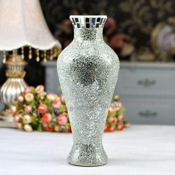 Wedding Favors Wholesale Handmade Crackle Mosaic Vases Buy Wedding