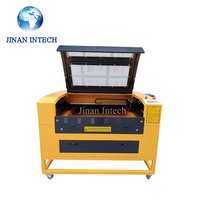 High quality LFJ6090 4040 laser cutting machine with laser tube