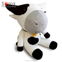 Promotion gifts polyester material plush cow toy gift stuffed animal toy