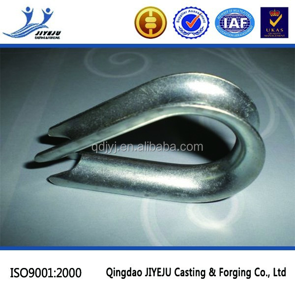 Hardware Rigging Wire Rope Eye Type G411 Thimble - Buy Wire Rope Eye ...