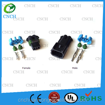 Mp 280 - 2 Pin Gm Delphi Sealed Connector 15300014/15300002/15300027 - Buy  1 Position Connector,Metri-pack 280 Series,Connector 15300014/ 15300002/