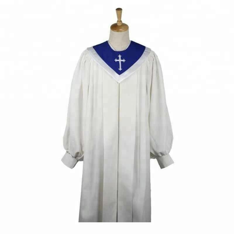 Adult baptism gown 11