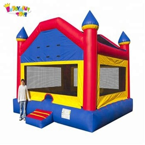 Factory price CE air bouncer inflatable trampoline used commercial inflatable bouncers for sale