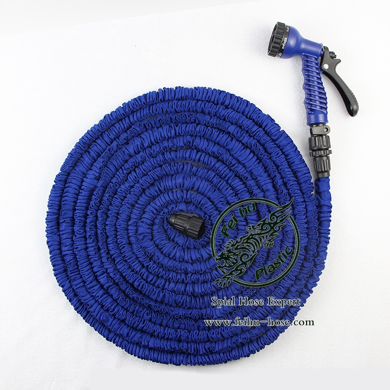 Expandable Garden Hose For Car Washing With Spray Gun,75FT Water Garden Hose With CE,SGS