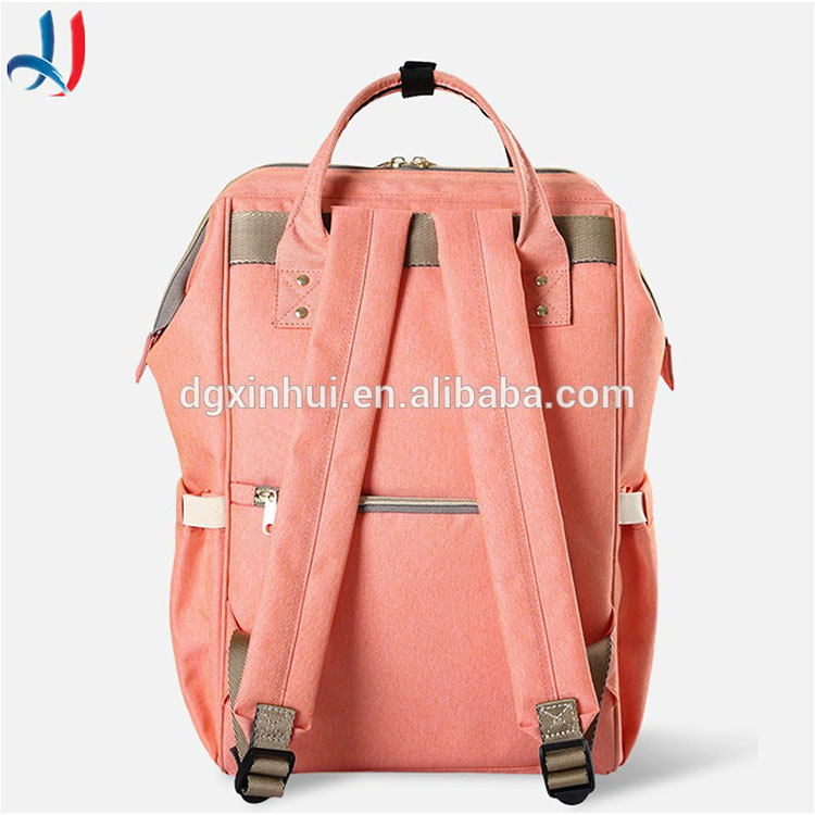 Outdoor backpack fashion large nappy mommy baby bags backpack