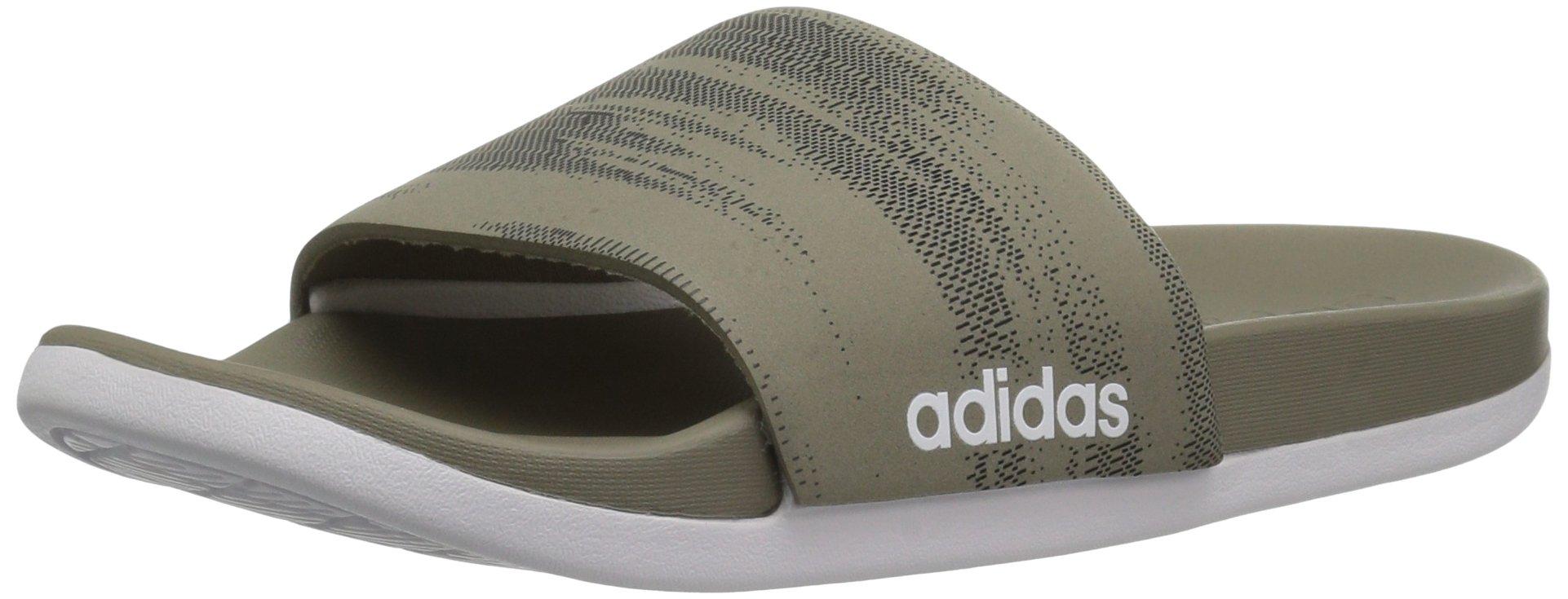 81c9f3df2b27 Get Quotations · adidas Men s Adilette Cf+ Link Gr Slide Sandal