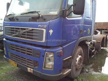 Left-hand Driver Volvo FH12 FM12 380hp tractor head Used Volvo Truck Head Ben Actros 2541 model truck for sale