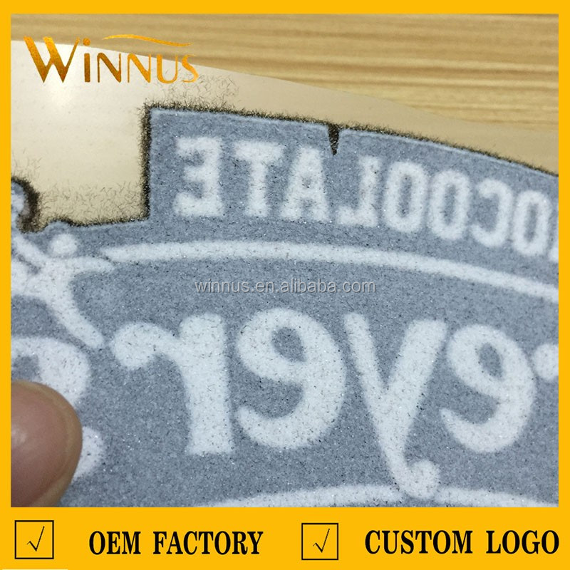 t-shirt tops hoodies sports hats garment logo label custom flock heat transfer