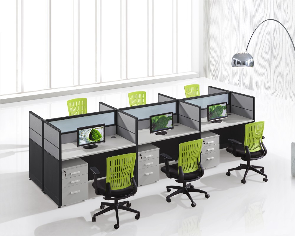 Office cubicle design small office call center workstation for Center table design for office
