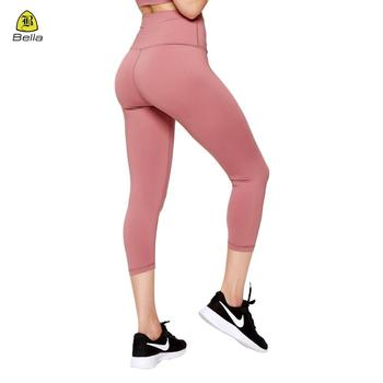 Wholesale workout sex yoga seamless women capris