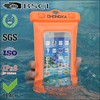PVC multifunction water proof phone pouch mobile case with armband