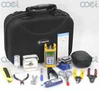 Orientek TFH-13 Fiber Optic Tool Kit with Optical Power Meter Visual Fault Locator 1mw Optical Fiber Cutter