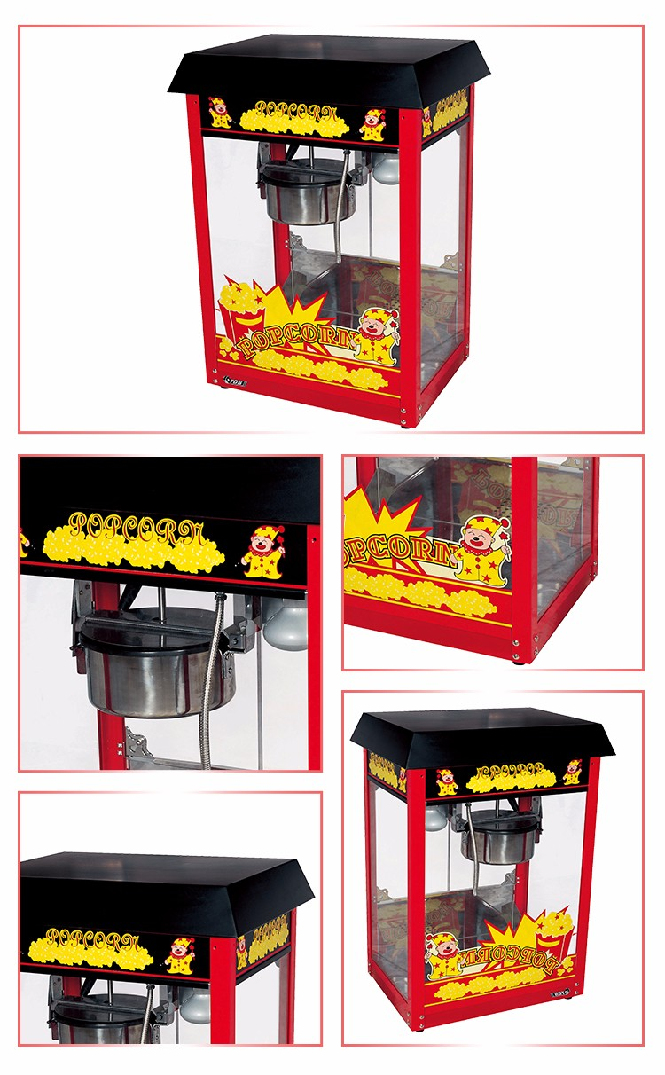 good quality Cinema Popular Hot Sale Wide Output Popcorn Machine