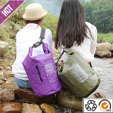 New product high quality ocean pack dry bag with strap for outdoor camping sawanobori