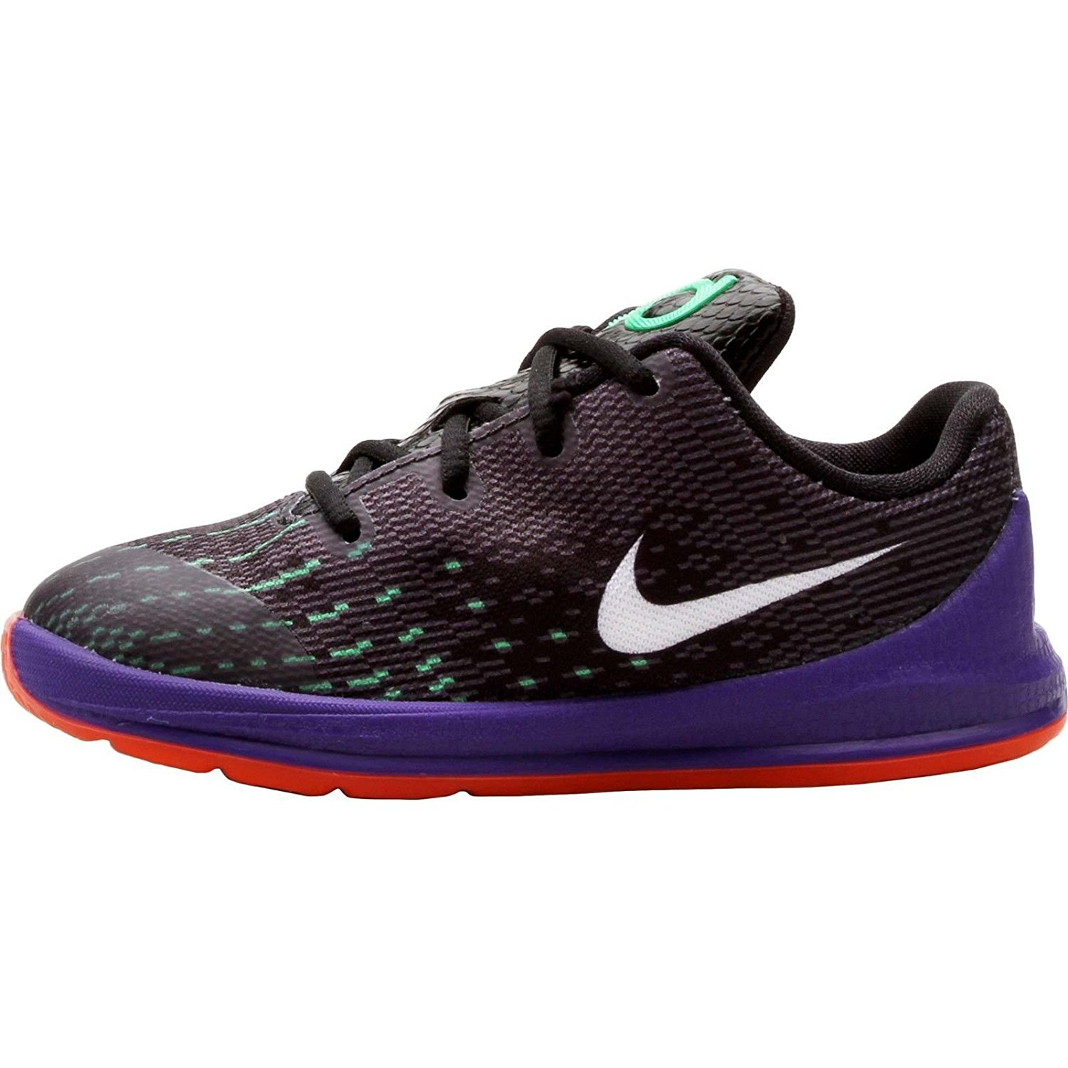 84cc2601121b Get Quotations · Nike KD 8 Preschool Boys Shoe Black Green Shock Hyper  Orange White 5C