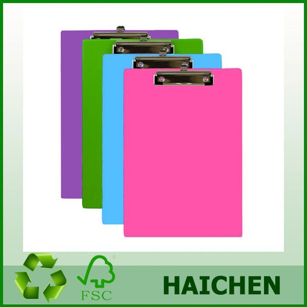 Standard Size Semi-transparent Plastic Clipboard With Low Profile ...