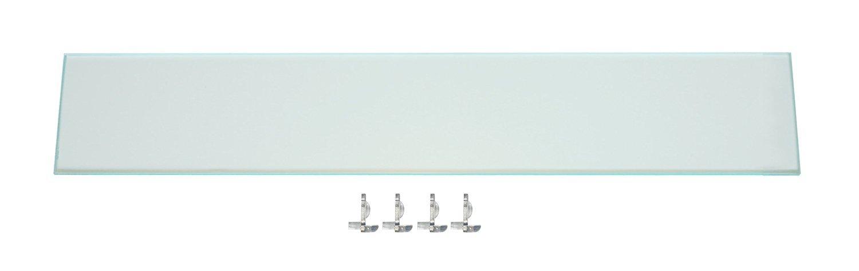 Medicine Cabinet Storage Shelf: Add Space or Replace Kohler Shelf- Complete w/Shelf Clips; Ocin Bathroom Toiletry Storage Shelf with Shatterproof Acrylic Plastic Design! (K15)