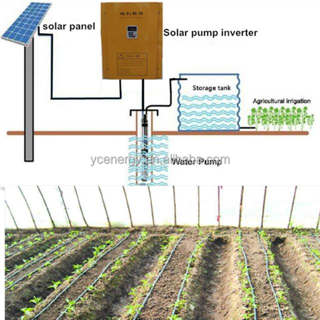 40hp 50hp 60hp Solarwarmwasserpumpsystem Tauchsolarbetriebene Pumpe Für Landwirtschaft Bewässerung Buy Solarbetriebene