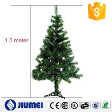 2015 Holiday Deoction Green Color 1.5m Christmas Tree