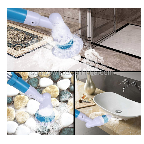 Automatic Spin Scrubber Rechargeable Turbo Scrub Electric Cleaning Brush