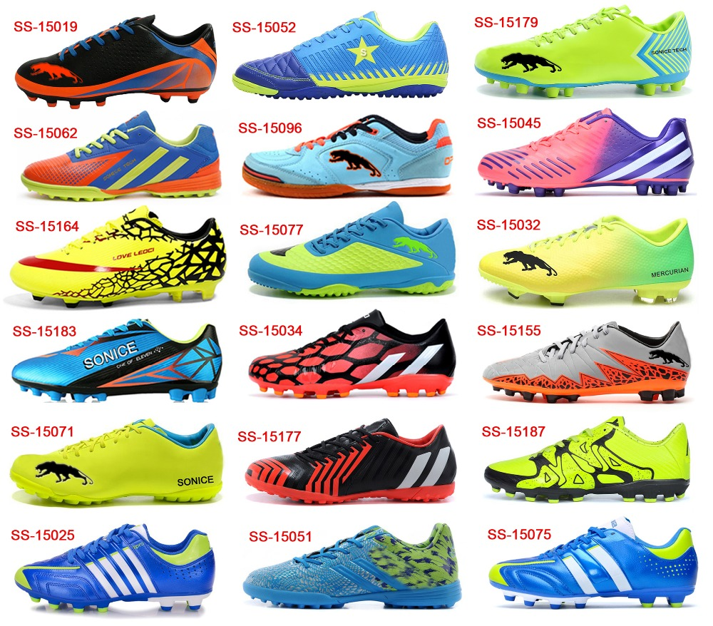2016 New Cheap Kids Chinese Brand Factory Football Shoes ...