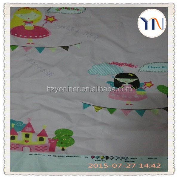 magic printing blackout curtain fabric photo print curtains of kids curtain China textile supplier