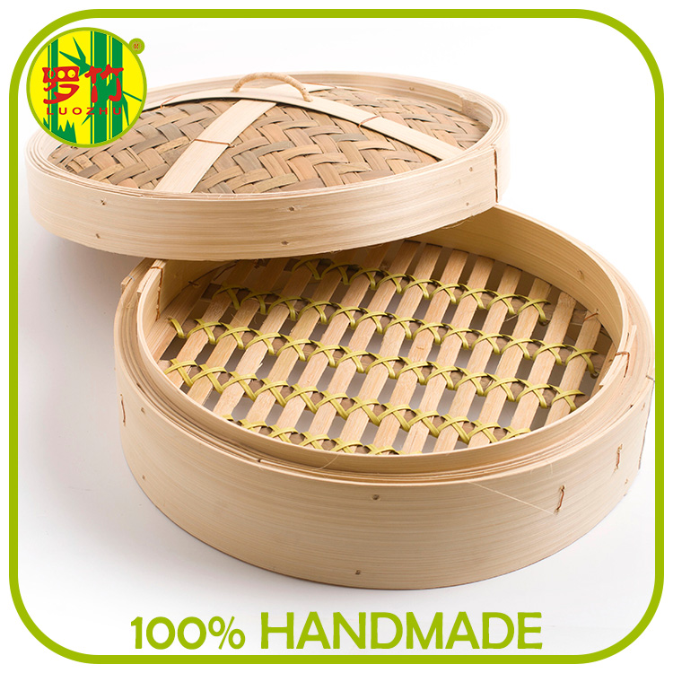 Wanted Business Partner Cooking Steamer One Base on Cover Bamboo Basket