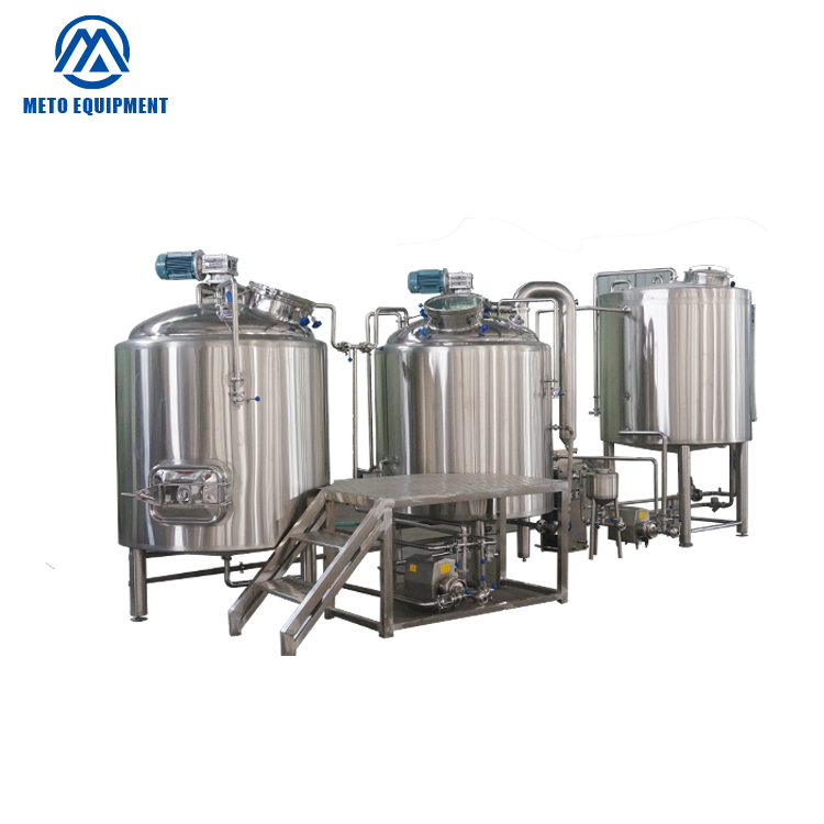 7BBL Beer Factory Using Stainless Steel Tank Brewery Equipment 7 Barrel Brewing System