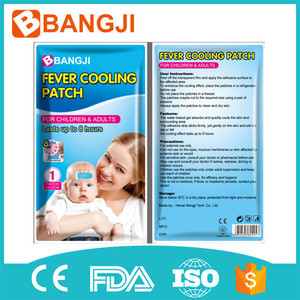 Factory price fever cooling gel pack cool fever patch for Baby health care product
