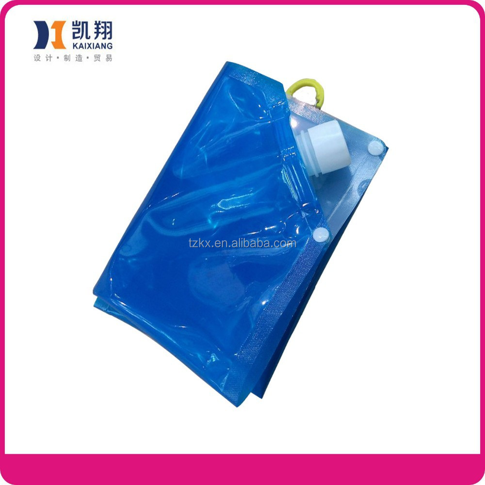 5L Foldable emergency foldable water bag bpa Reusable Water Bag Container