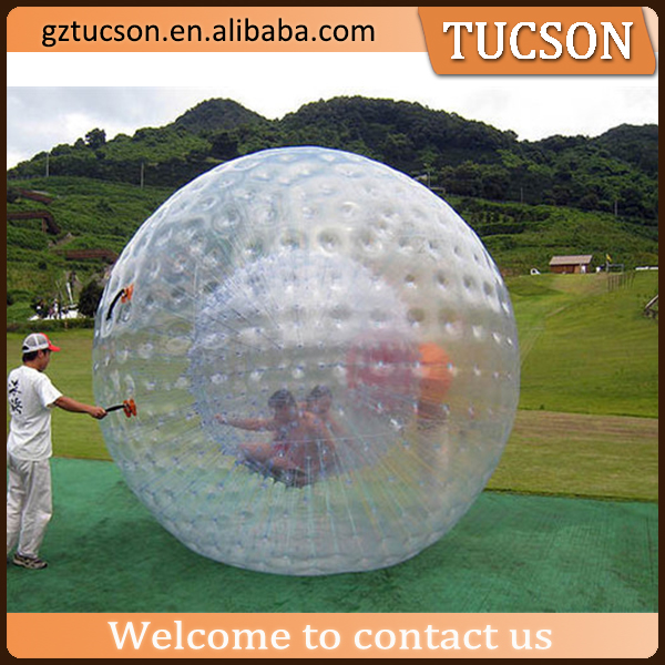 Transparent PVC Inflatable Zorb Ball /inflatable ball person inside