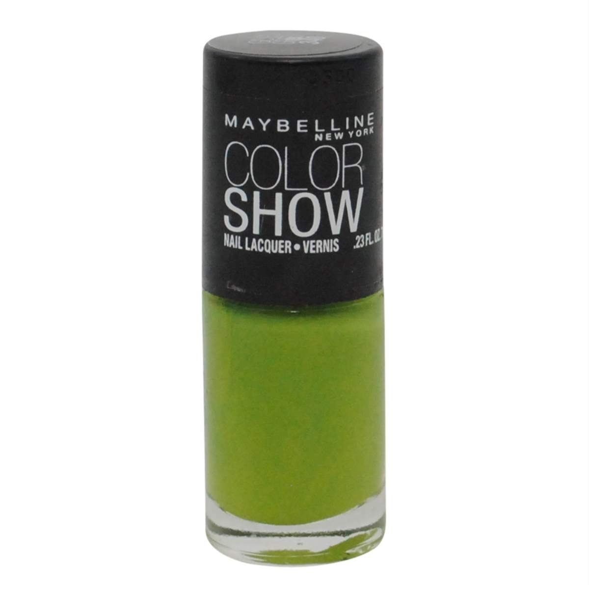 Maybelline Color Show Limited Edition Nail Polish, 340 Go Go Green (3 Pack)