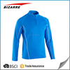 Zipper dri fit men long sleeves t-shirt