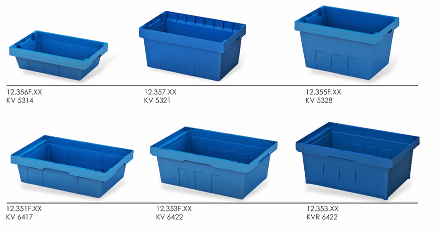 INSTORE storage tote boxes