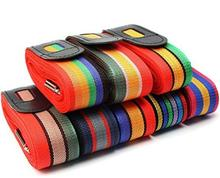 Hot selling colorful suitcase luggage packing belt stripe