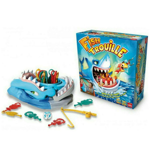 Hot fishing Rob Board game fishing toys fish trouille trick toy