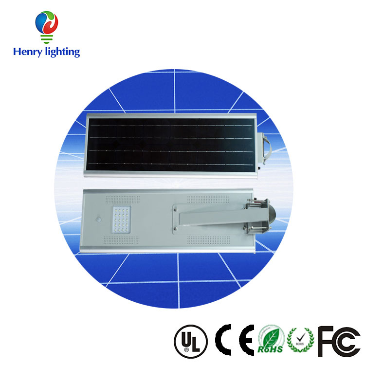 Solar led light for garden, All in one solar light for park 8w, outdoor solar led street light 8w